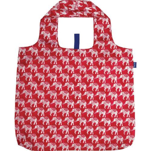 Elephant Pink Blu Bag Reusable Shopping Bag