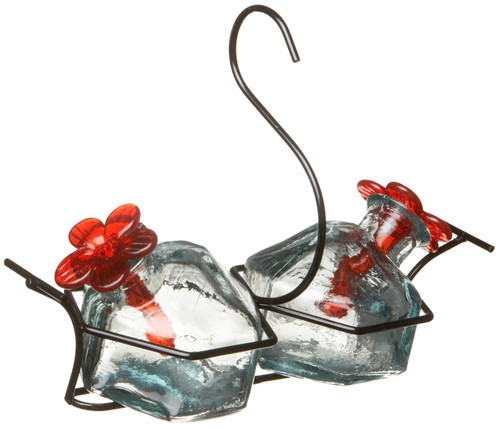 Bouquet Classic Clear 2 Hummingbird Feeder