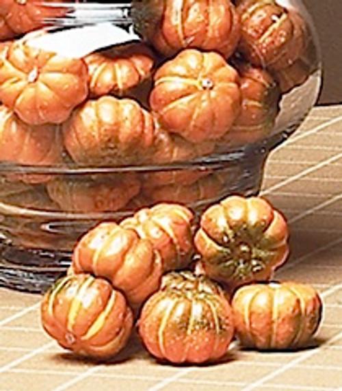 Orange Pumpkins in Bag