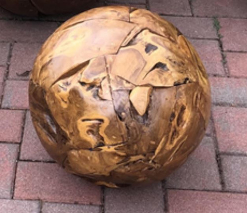 "Harini Driftwood Ball - 18""Dia"