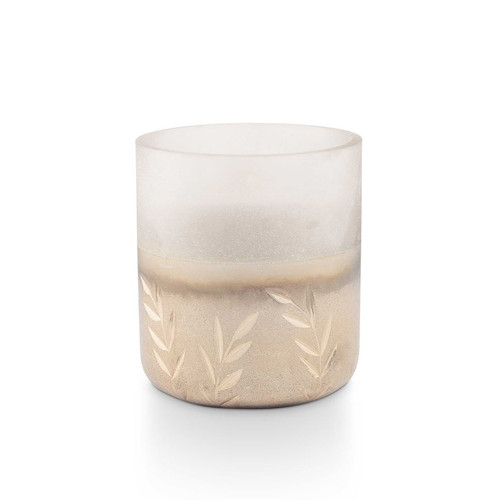 Balsam & Cedar Small Frosted Glass Candle