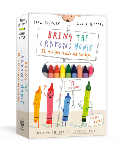 Bring the Crayons Home - (Paperback)