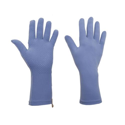 Foxgloves Gardening Gloves - Grip, Medium - Periwinkle