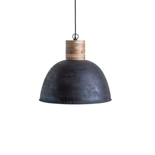Metal & Wood Pendant Lamp