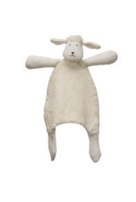 """11-3/4""""H Plush Snuggle Toy - Lamb"""