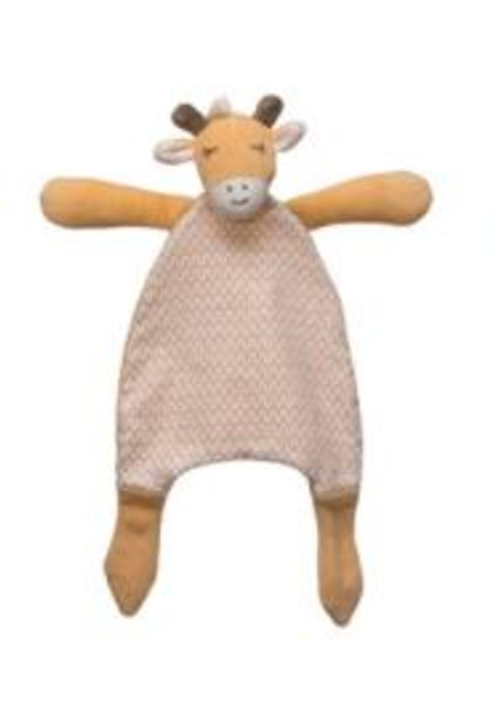 """11-3/4""""H Plush Snuggle Toy - Cow"""