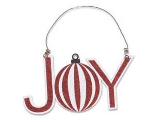 Christmas Cutout Ornament - JOY