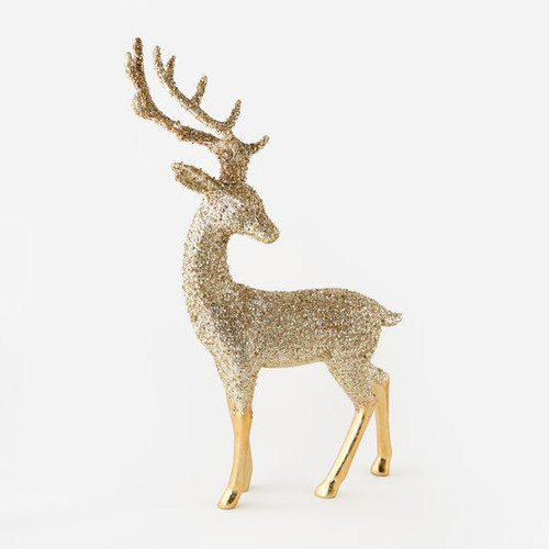"Metallic Deer, Resin, 36"""