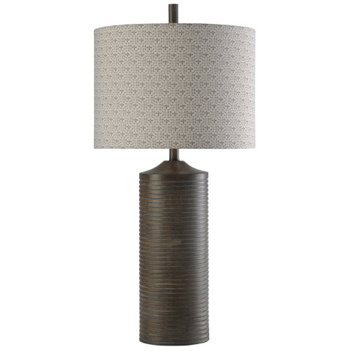 Salford Grey Table Lamp