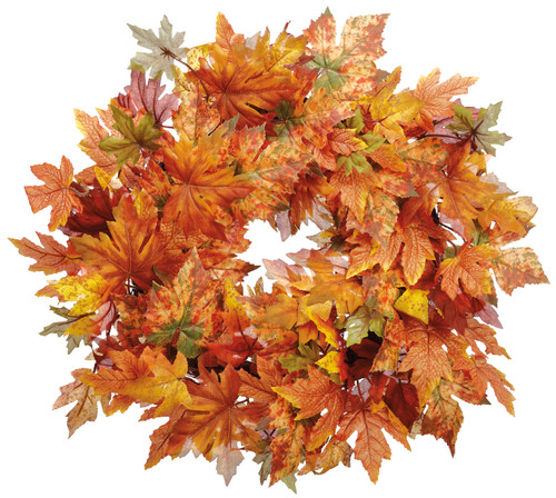 "24""MAPLE LEAF WREATH"