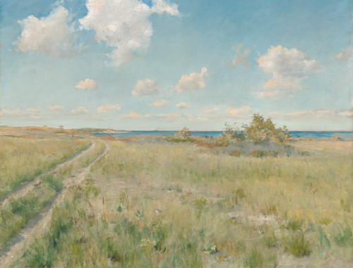 The Old Road to the Sea, 1893 by William Merritt Chase - Boxed Canvas