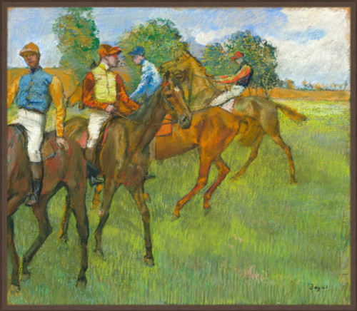 Before the Race, c. 1887-1889 - Edgar Degas