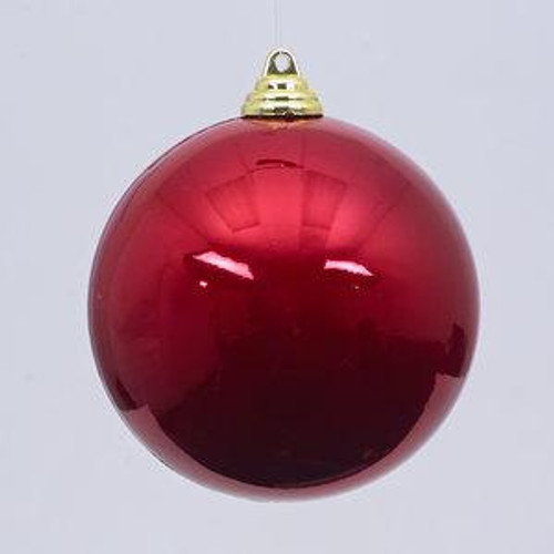 CANDY APPLE ORNAMENT, RED 12""