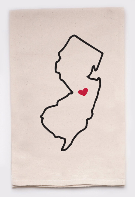 New Jersey state towel  (kitchen towel)