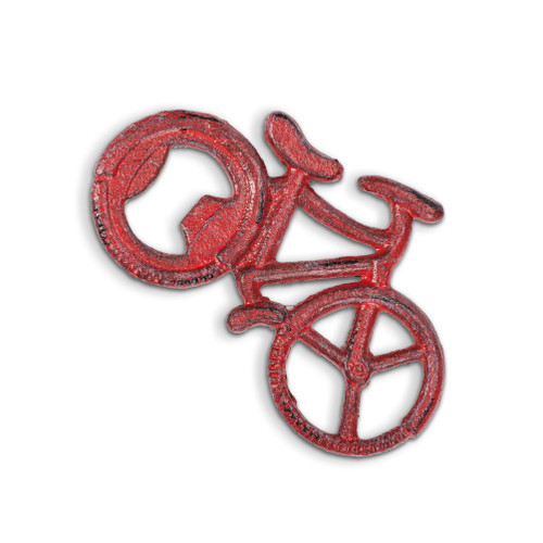 Bicycle Bottle Opener- Antique Red