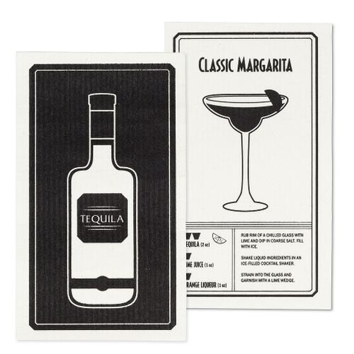Tequila & Margarita Dishcloths - Set of 2