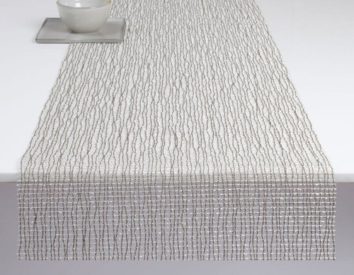 Lattice Table Runner 14x72 - SILVER
