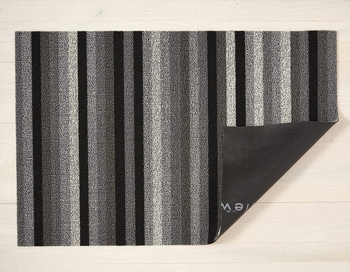 Even Stripe Shag Utility 24X36 - MINERAL
