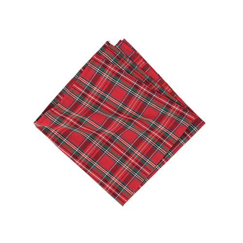 Red Plaid Napkin - Set of 4