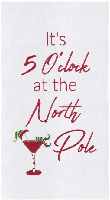 5 O'Clock North Pole Towel
