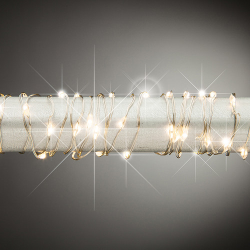 5ft Battery Operated Twinkling Micro LED String Lights