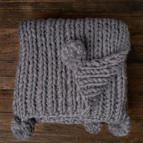 Cotton Ball Blanket - Oxford