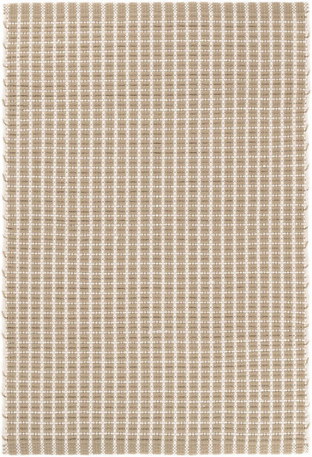 Gridiron Wheat Indoor/Outdoor Rug 2x3