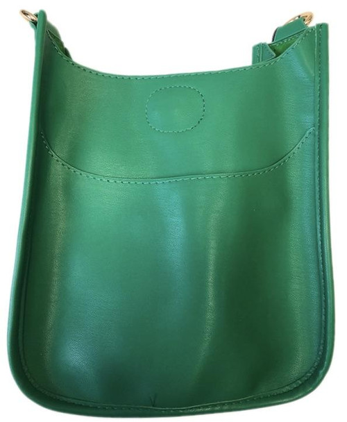 Kelly Green Mini Vegan Messenger Bag