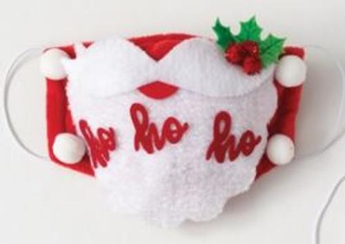 CHRISTMAS HOLIDAY FACE MASK, Santa