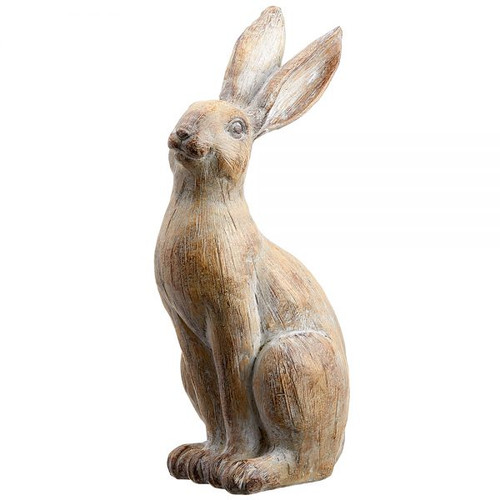 "13.5"" Bunny  Brown Whitewashed"