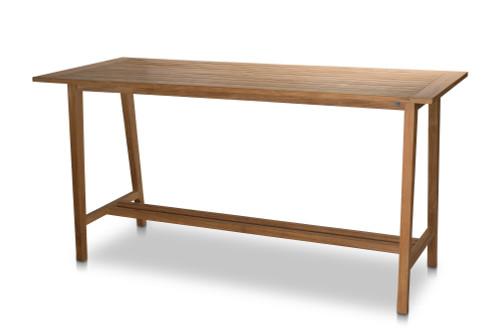 Essential Rectangular Bar Table with Umbrella Hole
