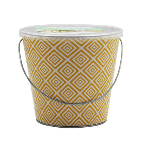 Patio Essentials 21092GEO2 Citronella Oil Candle Bucket, 18 Oz
