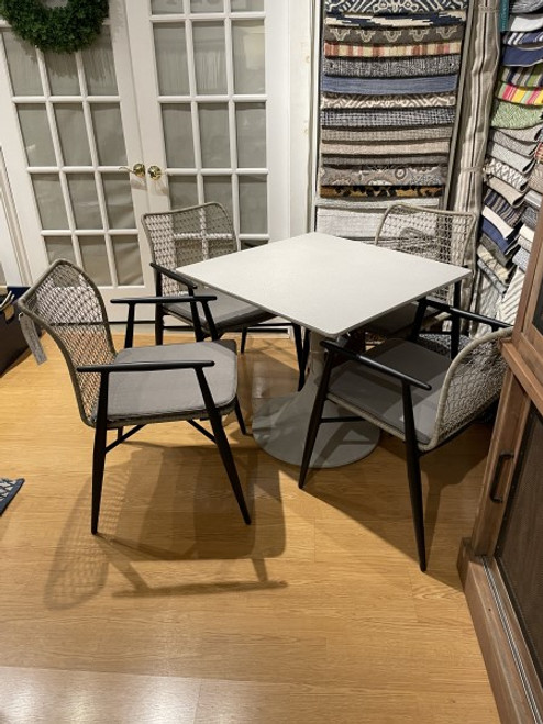 CO9 Design Sample Set  (30% OFF) -   Bayridge Bistro Table and Dining Chairs
