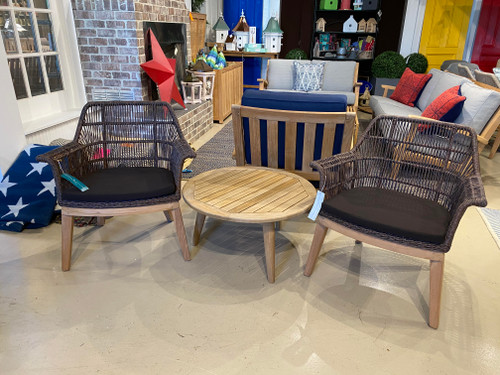 CO9 Design Sample Set  (30% OFF) -  Monica Coffee Table with Sierra Club Chairs