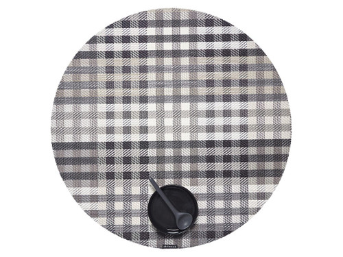 "Rhythm Table Mat 15"" Round - Vanilla"