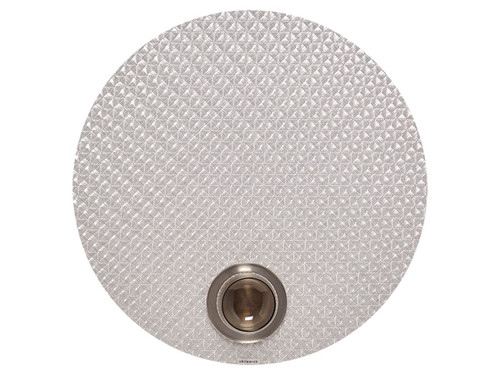 """Origami Tablemat 15"""" Round - ICE"""