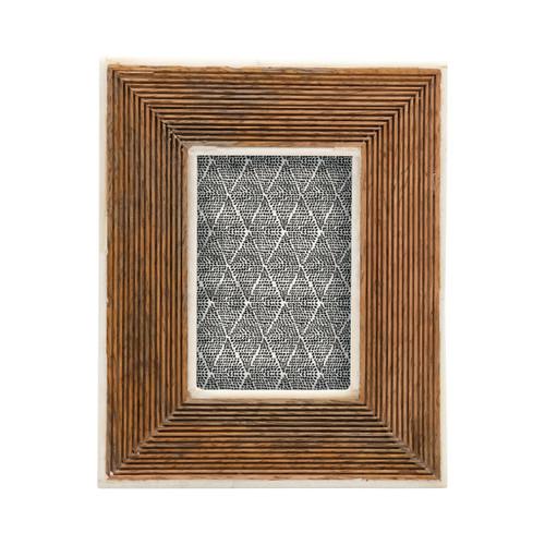 Hand-Carved Mango Wood Photo Frame