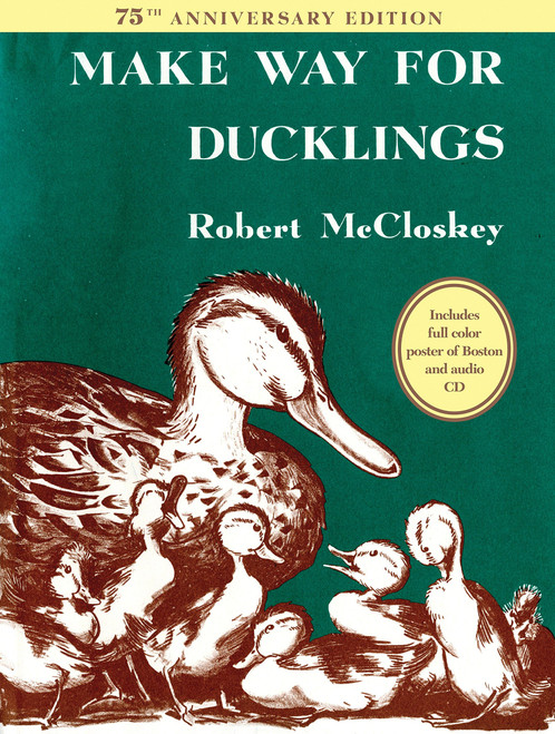 Make Way for Ducklings 75th Anniversary Edition - (Picture Book)