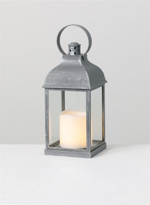 "Lantern Candle with 1 Pillar, 4""x4""x10.5"""
