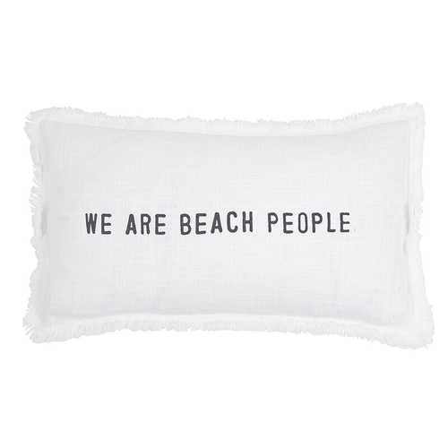 Rectangle Sofa Pillow - We Are Beach People