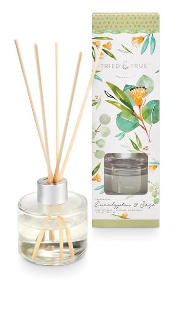 Tried & True Eucalyptus & Sage Reed Diffuser