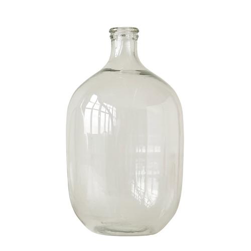 """9"""" Round x 19""""H Glass Bottle"""