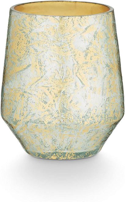 Fresh Sea Salt Desert Glass Candle, Gold