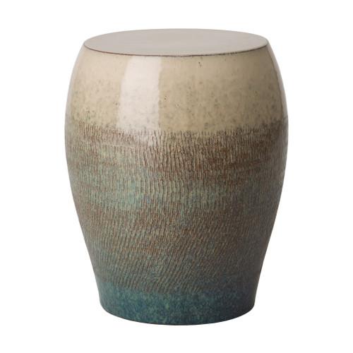 Seiji Garden Stool/Table,  Bayside Green Glaze