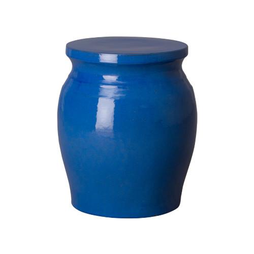 Koji Garden Stool/Table, Blue Glaze