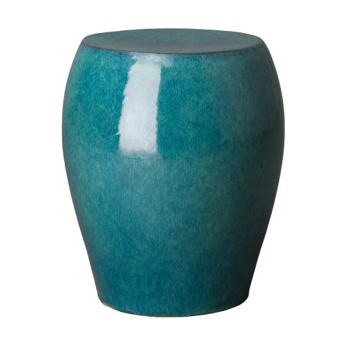 Seiji Garden Stool/Table, Teal Glaze