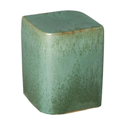 Aero Garden Stool/Table, Metallic Mint Glaze