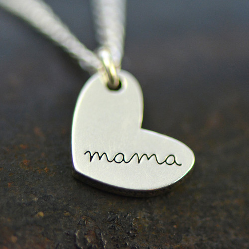 """""""mama"""" Necklace - Sterling Silver"""