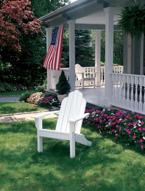White Adirondack Classic Chair #02010