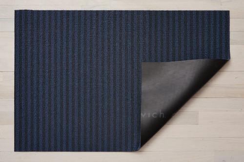 Breton Stripe Shag 24x36 - BLUEBERRY